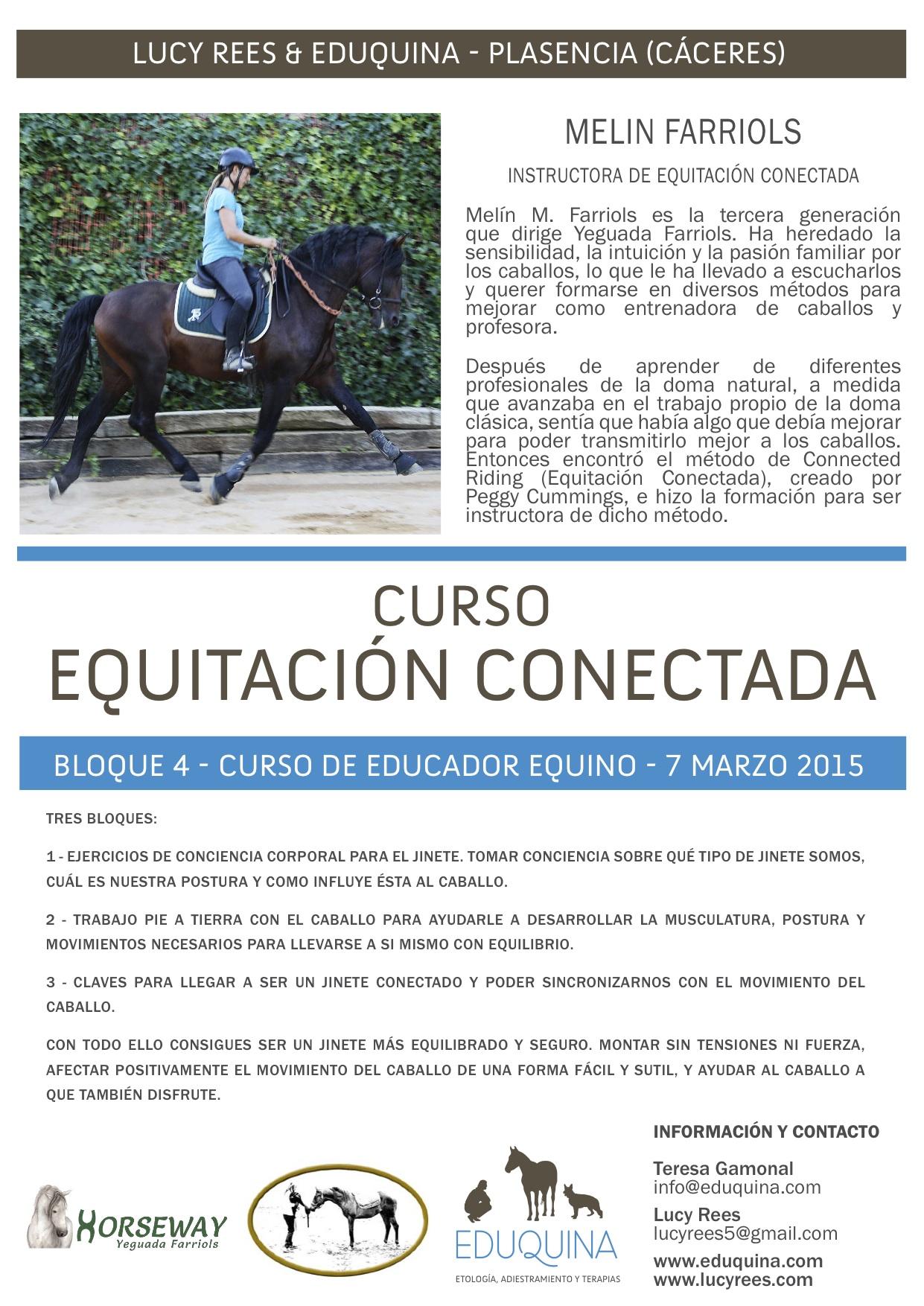 Curso: Equitación Conectada