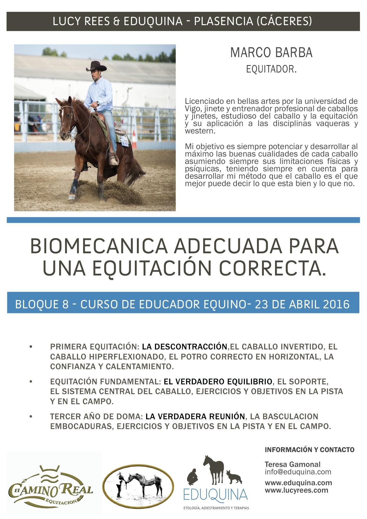 FUNDAMENTOS DE LA EQUITACIÓN Y BIOMECANICA. Jose Manuel Sales Pons «el cura» y Marco Barba
