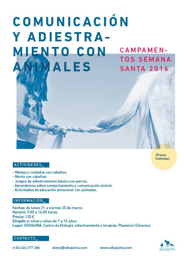 CAMPAMENTOS DE SEMANA SANTA