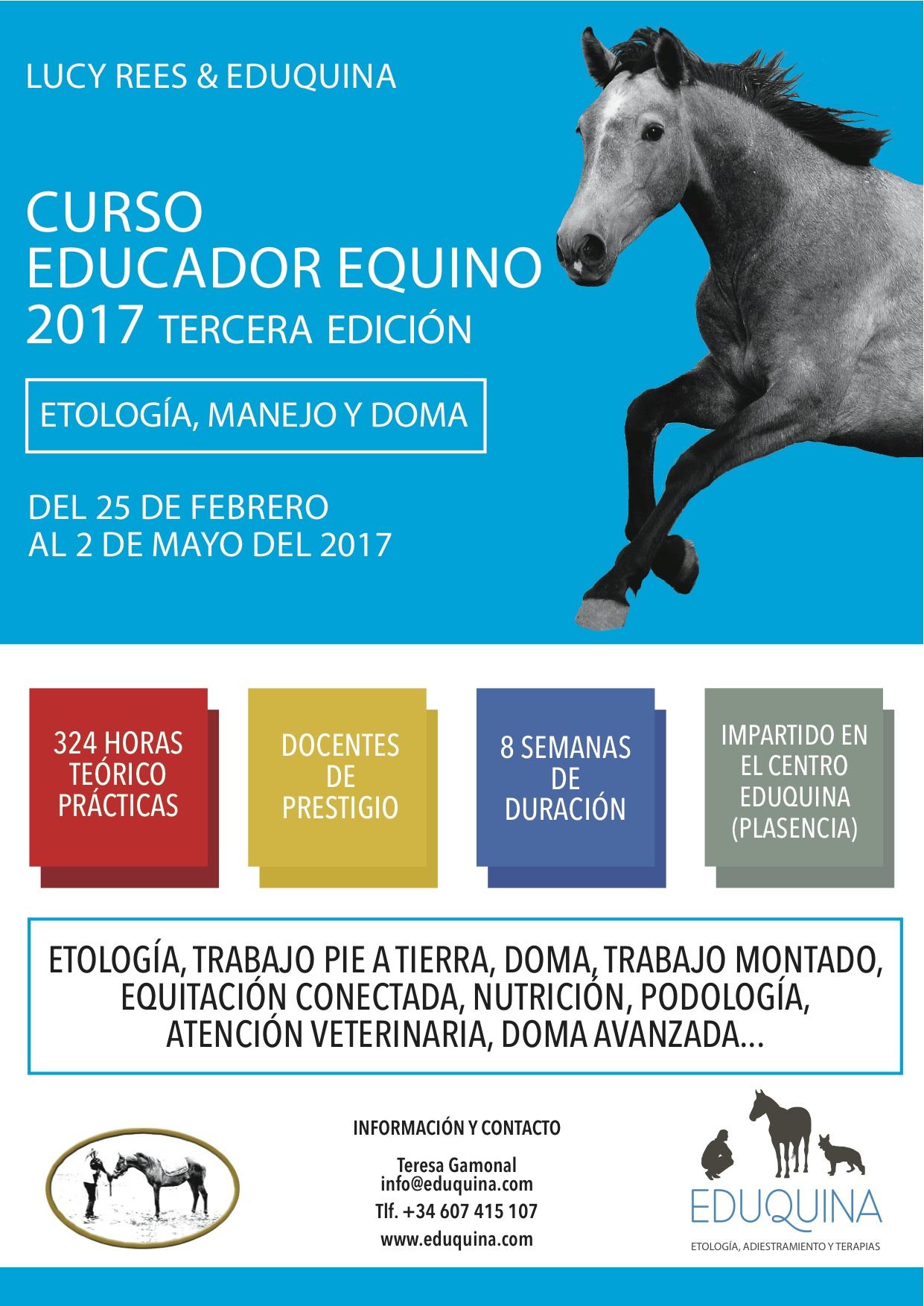 Curso de Educador Equino 2017