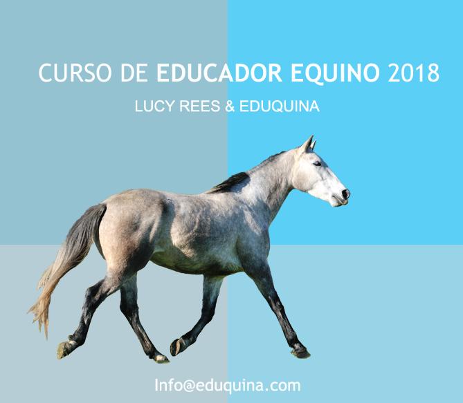 CURSO EDUCADOR EQUINO -2018 Lucy Rees& Eduquina